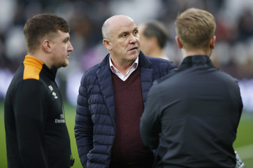 Hull manager Mike Phelan before the match