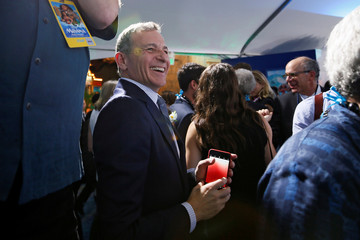 """Walt Disney Company Chairman and CEO Iger smiles after taking a photo at the world premiere of Walt Disney Animation Studios' """"Moana"""" as a part of AFI Fest in Hollywood"""