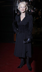 "Actress Helen Mirren arrives for the British premiere of the film ""The Last Station""  in London"