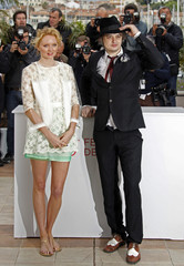 Cast member Doherty  and Cole pose during a photocall at the 65th Cannes Film Festival