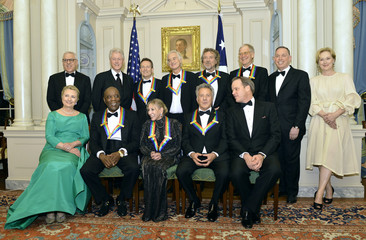 2012 Kennedy Center Honors attendees gather for group photo at the U.S. State Department