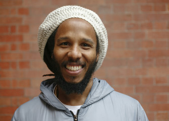 Marley poses for a portrait ahead of his headline show in London