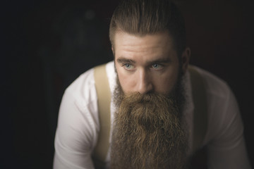 Male Bearded Model
