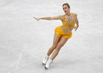 Wagner of the U.S. competes during the women's free program at the ISU World Figure Skating Championships in Saitama