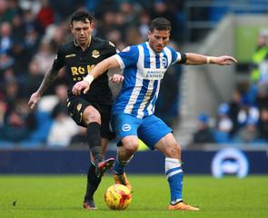 Brighton & Hove Albion v Bolton Wanderers - Sky Bet Football League Championship