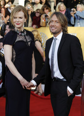 Actress Kidman and husband Urban arrive at the 17th annual Screen Actors Guild Awards in Los Angeles