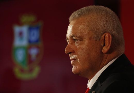 Announcement of the British & Irish Lions Head Coach for The Lions 2017 Tour of New Zealand