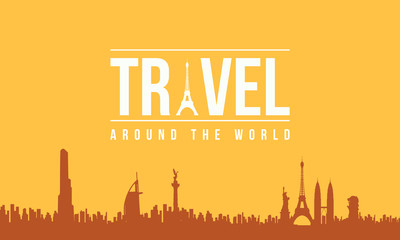 Design graphic travel and holiday background