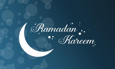 Background style Ramadan Kareem card