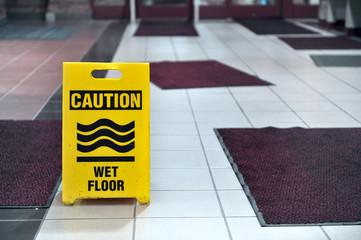 Wet Floor Sign Carpets