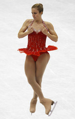 Wagner of the U.S. performs during the women's short program at the ISU World Figure Skating Championships in Nice