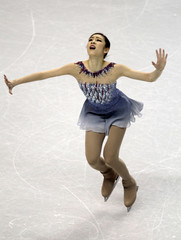 Yuna Kim of South Korea performs during the Ladies Short Program at the ISU World Figure Skating Championships in London, Ontario