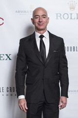 Amazon Chairman and CEO Jeff Bezos attends the 110th Explorers Club Annual Dinner at the Waldorf Astoria in New York