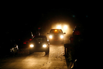 Pesticide is sprayed in the dead of night to help fight against mosquitoes in San Diego, California