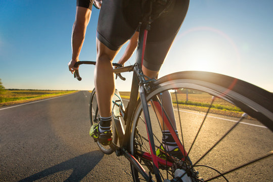 Bicycle training on the road