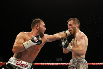 Sam Eggington v Dale Evans British & Commonwealth Welterweight Title's