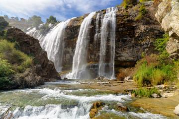 Tortum waterfall in Eastern Anatolia Region of Turkey