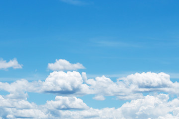 Canvas Prints sky-clouds background.