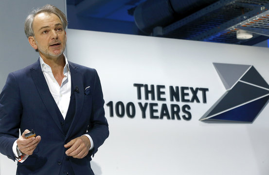 Van Hooydonk Senior Vice President Design of German luxury carmaker BMW presents BMW's vision of mobility for the next 100 years in Munich