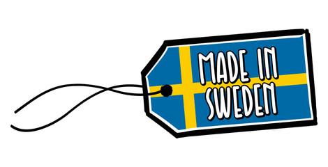 Made in Sweden Label.