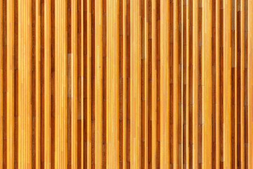 Yellow wooden planks and panels background