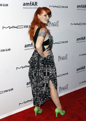 Singer Ana Matronic attends amFAR's third annual Inspiration Gala in New York