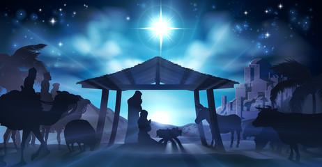 Nativity Christmas Scene