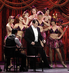 Actor Matthew Broderick performs during the American Theatre Wing's 66th annual Tony Awards in New York