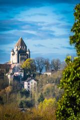 Provins, la tour César et la cité médiévale
