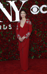 Actress Keri Russell arrives for the American Theatre Wing's 70th annual Tony Awards in New York