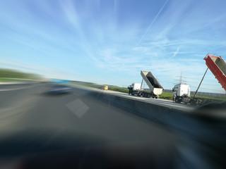 Baustelle Autobahn