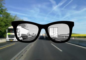 Augenoptik für den Straßenverkehr