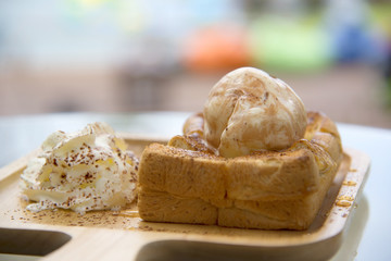 Honey Toast, Food and Drink