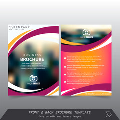 Brochure / Annual Report / Cover design vector
