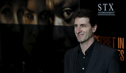 "Director of the movie Ray poses at the premiere of ""Secret in Their Eyes"" at the Hammer Museum in Los Angeles"