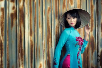 Vietnam girl.