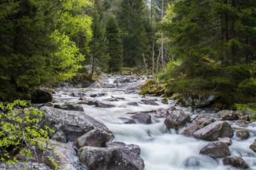 Long Exposure River