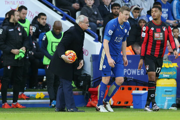 Leicester City v AFC Bournemouth - Barclays Premier League