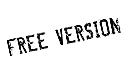 Free Version rubber stamp. Grunge design with dust scratches. Effects can be easily removed for a clean, crisp look. Color is easily changed.