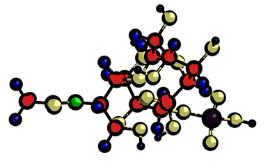 Molecular structure of chondroitin sulfate