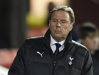Tottenham Hotspur's manager Harry Redknapp reacts during their FA Cup soccer match against Watford at Vicarage Road in Watford