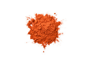 Canvas Prints Spices chili powder on white background