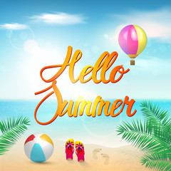 Summer Background Vector.