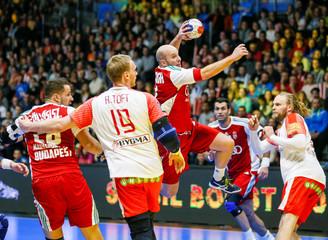 Men's Handball - Denmark v Hungary - 2017 Men's World Championship Second Round, Eighth Finals