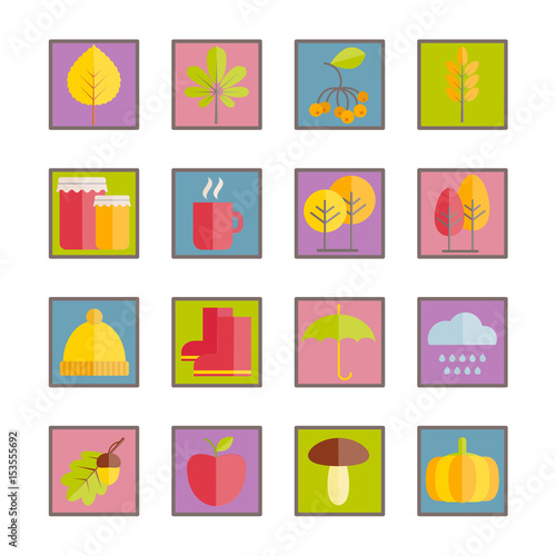 """""""Set Of Vector Flat Crockery Icons. Modern Icons Of"""