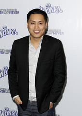 """Director Jon Chu arrives for the premiere of the 3D film """"Justin Bieber: Never Say Never"""" in New York"""