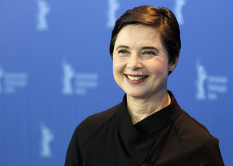 Jury president and actress Rossellini poses during a photocall at the 61st Berlinale International Film Festival in Berlin
