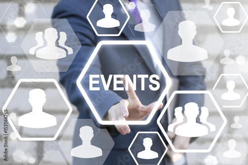 Event Management Business Social Network People Concept