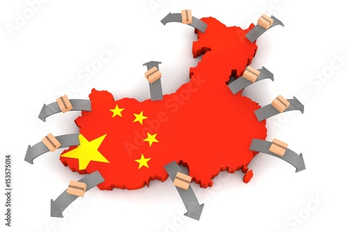 Exporting goods and services from China