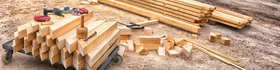 Carpenter's Tools and Materials